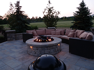 Furniture and Fire Pit